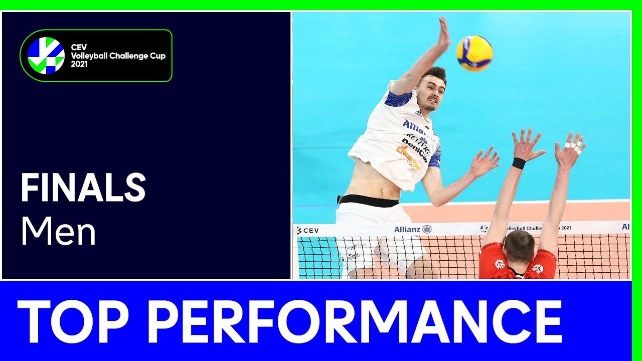 Jean Patry | Top Performance - Finals | #CEVChallengeCupM