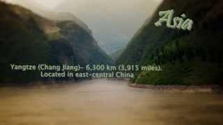 The longest river on each continent - fedcalmus