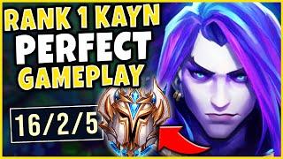 #1 KAYN WORLD DESTROYS CHALLENGER (FLAWLESS GAMEPLAY) - League of Legends