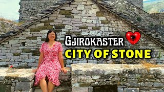 YOU MUST VISIT THIS EUROPEAN CITY! (Albania's Stone City: Gjirokaster) - ALBANIA TRAVEL VLOG
