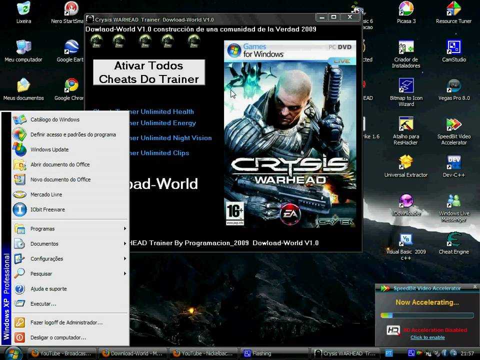 Crysis: Warhead - PC Game Trainer Cheat PlayFix No-CD No ...