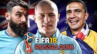 2018 RUSSIA WORLD CUP WITH AUSTRALIA!!! | FIFA 18: Manchester United Career Mode - S1 E26
