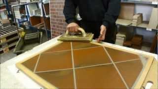 Мастер-класс по затирке швов напольной плитки, Германия(Мы сняли это видео во время экскурсии по 8-ми заводам ABC-Klinkergruppe в 2011 году. Получился небольшой мастер-класс..., 2013-04-08T09:47:18.000Z)