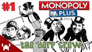 NOT THIS AGAIN (Monopoly Plus QUAD FACECAM w/ The Derp Crew Ep. 1)