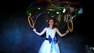 Шоу гигантских мыльных пузырей в Оренбурге. Запрещенное к показу видео.