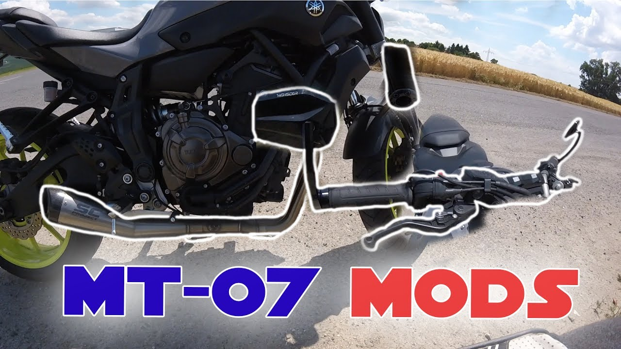 yamaha mt 07 modifikationen motom nster youtube. Black Bedroom Furniture Sets. Home Design Ideas