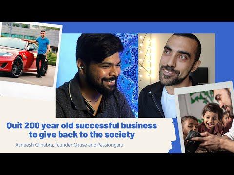episode-2---avneesh-chhabra,-founder-qause-and-passionguru
