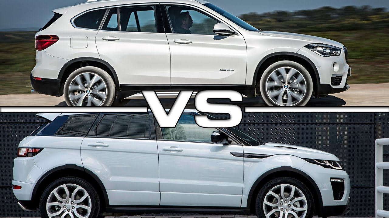 2016 BMW X1 vs 2016 Land Rover Range Rover Evoque - YouTube