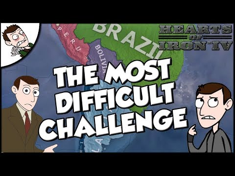 Is This The Hardest Challenge Ever? Hearts of Iron 4 hoi4 Kaiserreich Mod Gameplay