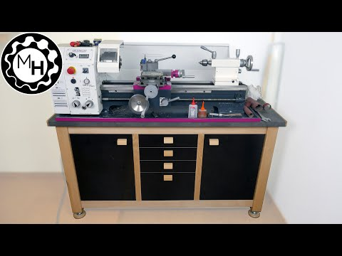 Building the Lathe Stand/Workbench