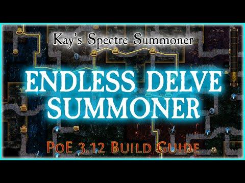 PoE 3.12 - Endless Delve Summoner Build Guide & Spectre Guide