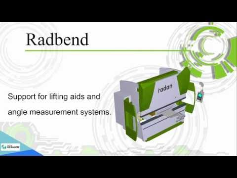 Introduction to Radbend bending module Обзор модуля Radbend для гибки