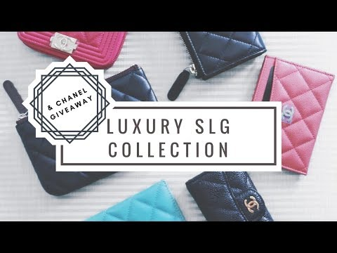 320542466bd0 Luxury SLG Collection & CHANEL SLG GIVEAWAY (Closed) | Ft. Chanel,  Dolce&Gabbana, Louis Vuitton