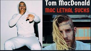 "Tom MacDonald - ""Mac Lethal Sucks"" (MAC LETHAL DISS #2) REACTION"
