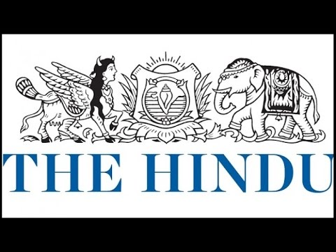 TOP 10 NEWS : TODAY'S NEWS PAPER : THE HINDU : 26TH JUNE 2016