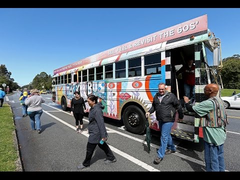 Psychedelic Magic Bus rolls in San Francisco as Summer of Love anniversary approaches