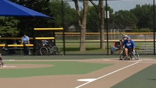 World Series of Wheelchair Softball Begins