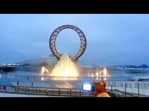 BIG-O SHOW multimedia-water show in South Korea, 2014