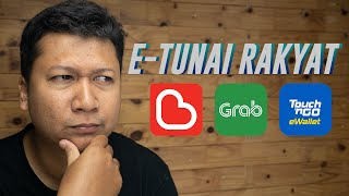 E-tunai Rakyat: Nak Tebus Guna E-wallet Mana?