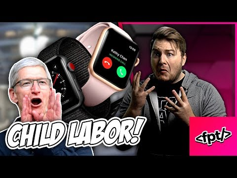 Apple made KIDS build the APPLE WATCH with their little fingers!? 😲