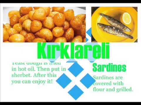 2 Traditional Turkish food  The Marmara Region