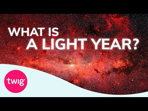 What Is Light Year Physics Lesson Idea
