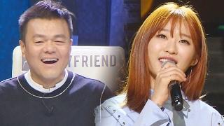 마은진, 박진영 홀리는 마성의 목소리! 'YOU'  《KPOP STAR 6》 K팝스타6 EP26