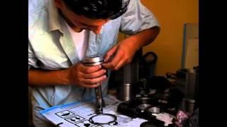 montage moteur renault 25 turbo diesel