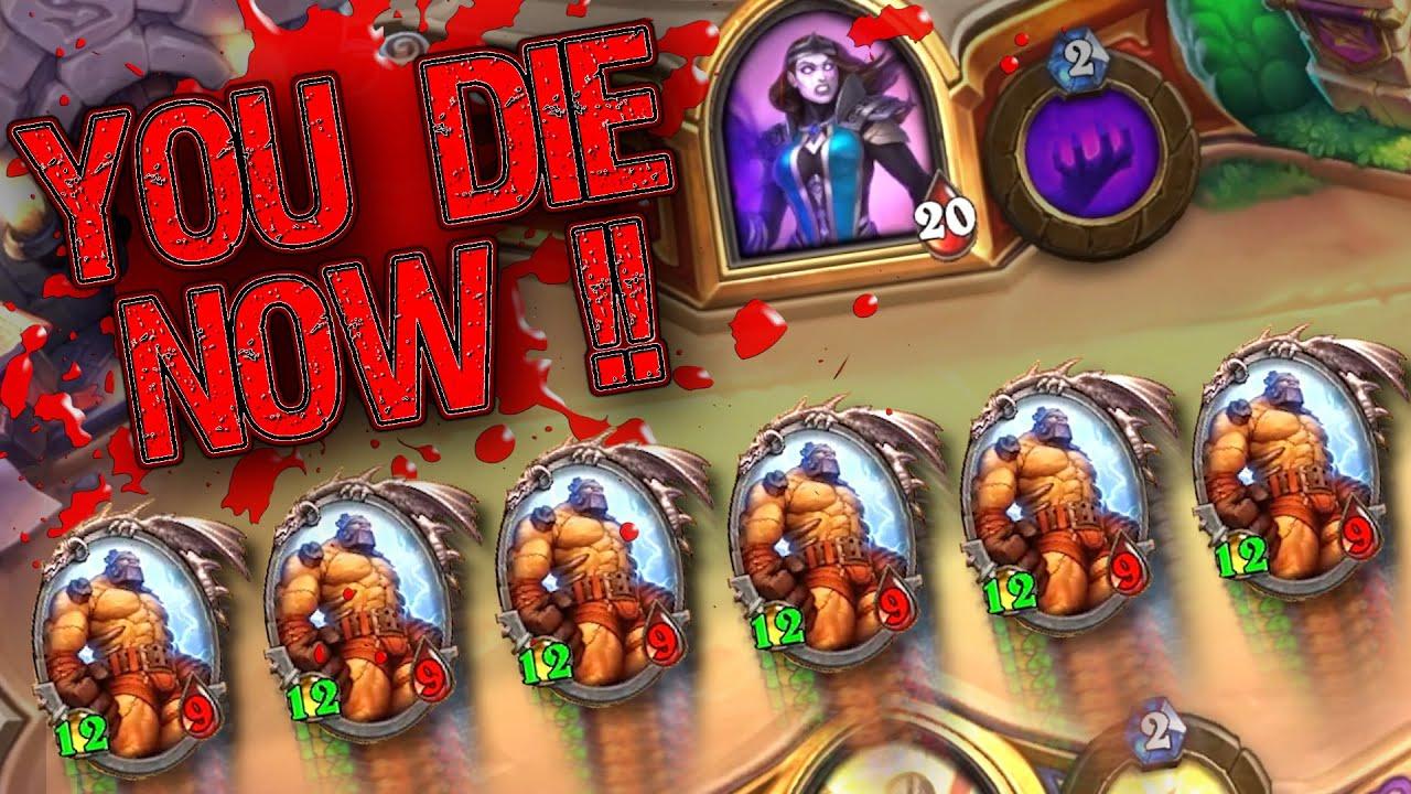 Making People Die Now w/ OP Pala Hero Power! | Duels | Hearthstone
