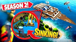 *NEW* SINKING SEASON 2 YACHT USING *SECRET* EXPLOIT IN FORTNITE! (EASTER EGG!)