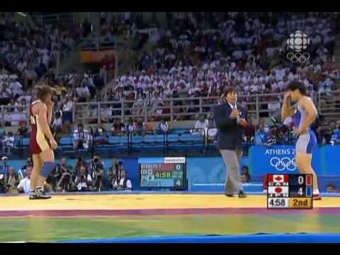 Athens 2004 Olympic Wrestling Women 55kg Final Saori Yoshida (Japan) vs Tonya Verbeek (Canada)