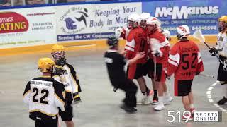 Junior B Lacrosse - Six Nations Rebels vs Elora Mohawks