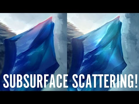 Critique Hour! How to paint subsurface scattering!
