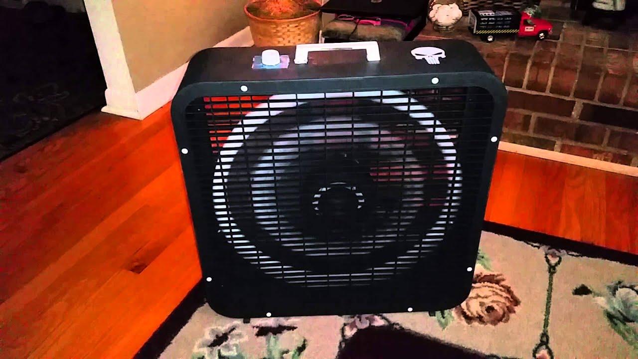 Kmart Box Fan : Vintage kmart k box fan revamped the punisher youtube