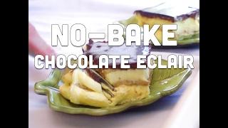 How to Make No Bake Chocolate Eclair Dessert