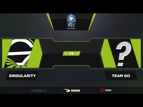 Team Singularity vs Team Go - HGC Open Division!