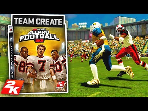 2K made a football game and it's SICK