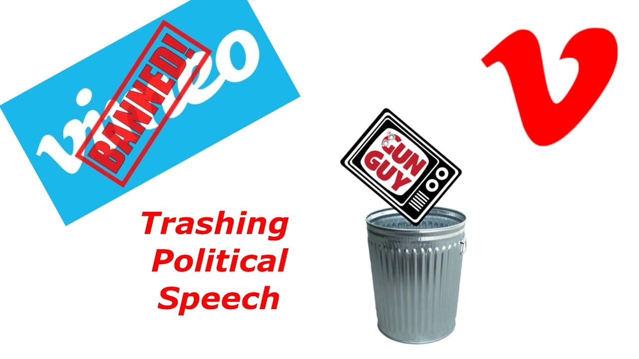 Vimeo is Trashing Political Speech!