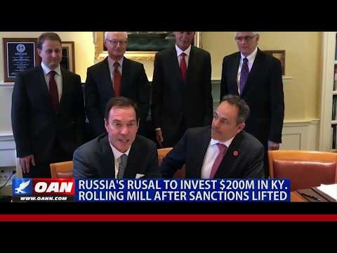 Russia's Rusal to invest $200M in Ky. rolling mill after sanctions lifted