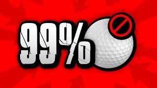 99% WONT FINISH UNDER PAR
