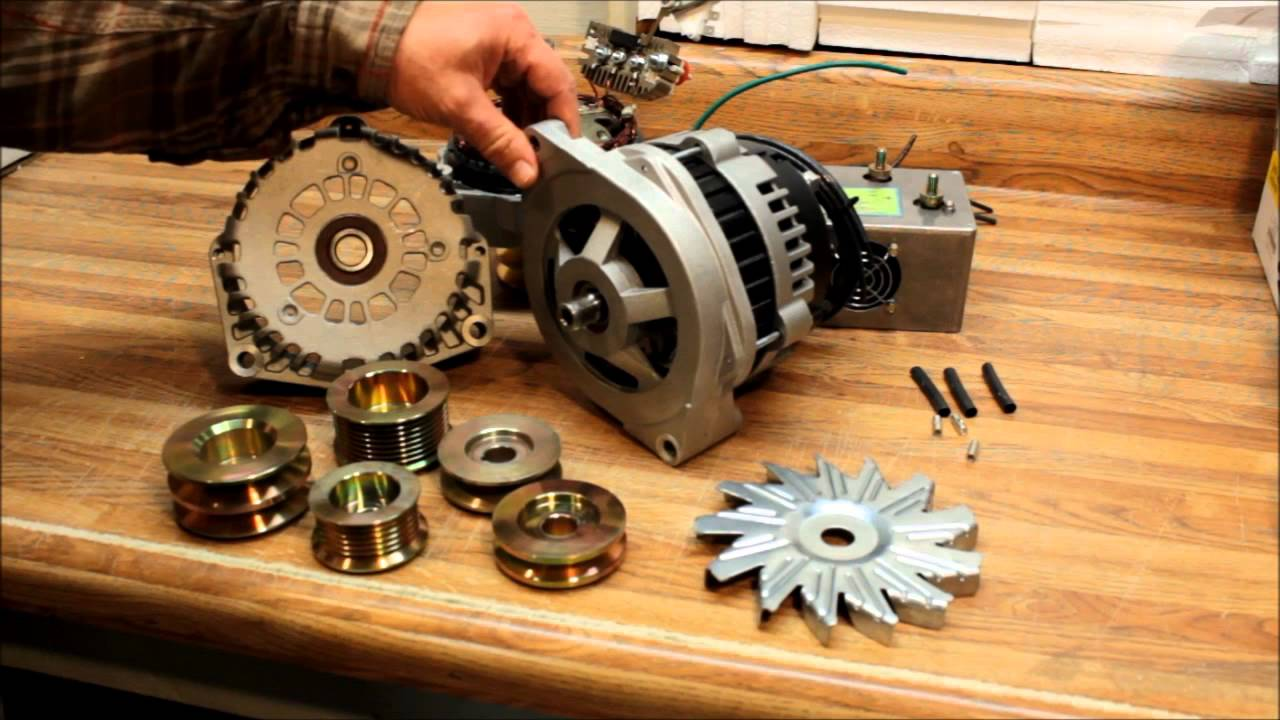 Super Heavy Duty Alternator For On Vehicle Welders And