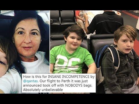 Qantas flies to Perth with no pa ssenger baggage