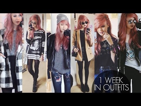 A Week in Outfits #2 | Amy Valentine
