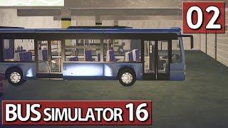 Bus Simulator 16 #02 In Fahrt kommen ► Lets Play Bus Simulator 16