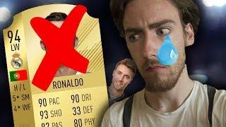 FIFA 18 - MA PLUS GROSSE ERREUR... ADIEU CR7 !