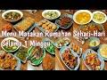 - Inspirasi Menu Masakan Rumahan Sehari-Hari Selama 1 Minggu