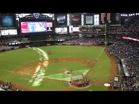 Diamondbacks vs. Padres (9/10/11; 2001 World Series Championship Reunion Game: Video 1 of 6)