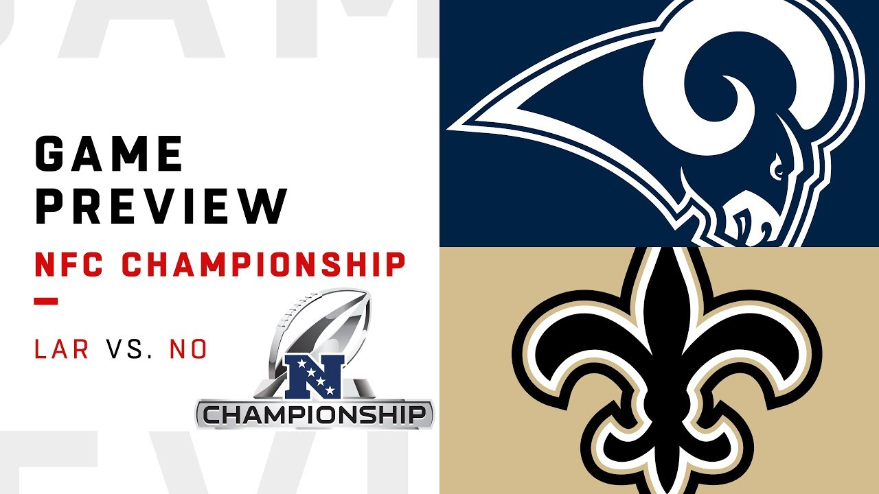 Los Angeles Rams vs. New Orleans Saints   NFC Championship Game Preview   Move the Sticks