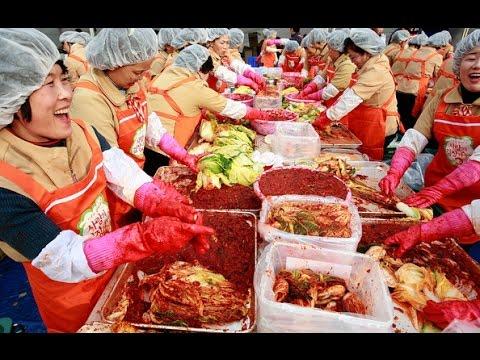 Lễ hội Hàn Quốc: 250 tấn kim chi cho người nghèo