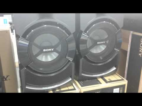 Sony SHAKE X3D test sound (00:08, HARD BASS)
